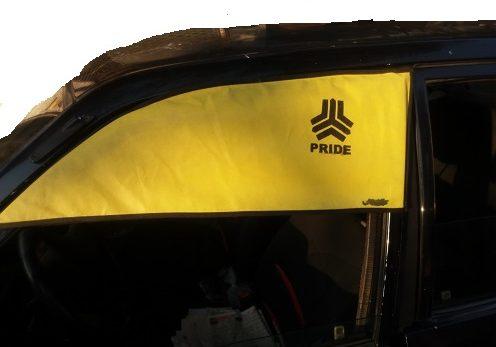 آفتابگیر روی در راننده